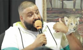 dj khaled radio interview