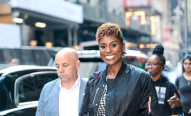 Issa Rae in New York City