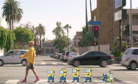 pharrell yellow light video
