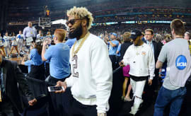 odell beckham jr at the final four