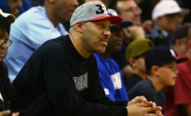 Lavar Ball watches his son Lonzo play at UCLA.