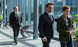 Robert Downey Jr and Tom Holland, 'Spider-Man: Homecoming'