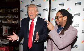 Trump and Lil Jon 2013