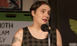 Lena Dunham dunhams it up on 'Girls'