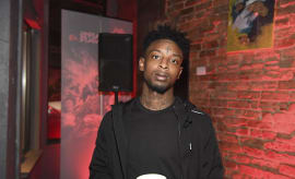 21 Savage attend Xbox And Gears Of War 4 launch event