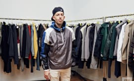 John Elliott at his showroom