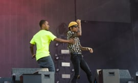 Rae Sremmurd at Wireless Festival 2017