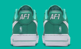 Nike Air Force 1 Low NBA Statement Game Green Release Date Heel 823511 302