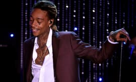 Wiz Khalifa performs onstage