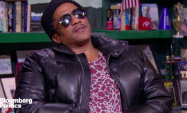This is Q-Tip's interview with Bloomberg Politics.