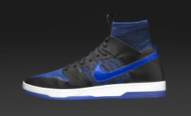 Nike SB Dunk High Elite Royal Profile 918287-041