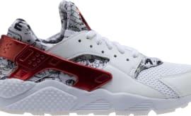 Shoe Palace x Nike Air Huarache White Red Platinum  Joonbug  AJ5578- 477ee9dc3