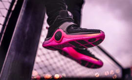Li-Ning Way of Wade 6 Black/Pink Release Date On-Foot