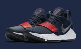 Nike PG1 1 Navy/Red-White Silver Release Date Main