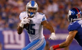 Eric Ebron against the Giants.