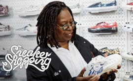 Whoopi Goldberg Goes Sneaker Shopping With Complex | Sneaker Shopping