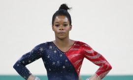 Gabby Douglas Pose Rio Olympics 2016