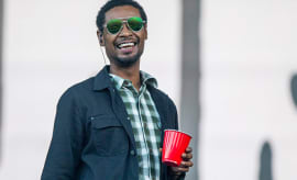 This is a photo of Danny Brown.