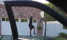 Drive-by dunk challenge.