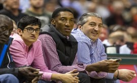 scottie pippen seated