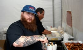 Action Bronson at Camp Flog