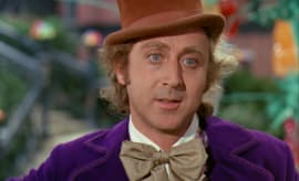 Gene Wilder as Willy Wonka in 'Willy Wonka & The Chocolate Factory.'