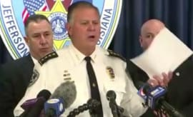 Sheriff Newell Normand sounds off at a press conference about the shooting of Joe McKnight.