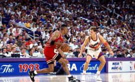 Scottie Pippen in the 1993 NBA Finals