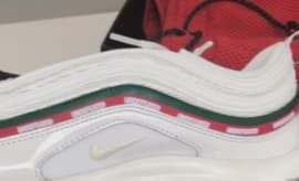 White Undefeated Nike Air Max 97 AJ19860-100 Side