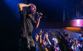 Vic Mensa performing