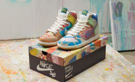 Thomas Campbell x Nike SB Dunk High Custom Packaging Limited (1)