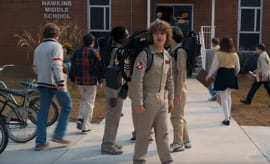 Stranger Things Season 2 Super Bowl teaser