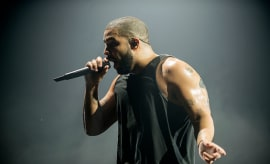 Drake performs at The SSE Hydro
