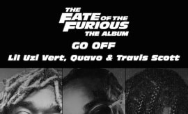 Go Off cover art actual size