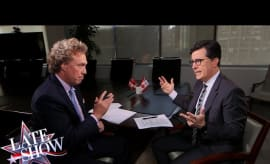 Stephen Colbert Canadien citizenship interview