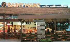 Picture of Saint Marc restaurant in California.
