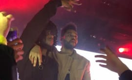 The Weeknd and 6lack.