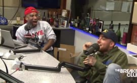 This is Mac Miller being interviewed on The Breakfast Club in September 2016.