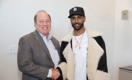 This is a photo of Big Sean.