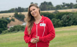 Ronda Rousey on 'Battle of the Network Stars.'