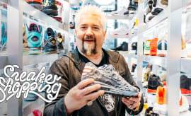 d5dd450dfc3db6 Guy Fieri Goes Sneaker Shopping with Complex
