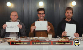 Rhett and Link Hot Ones