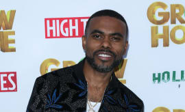 Lil Duval at 'Grow House' premiere