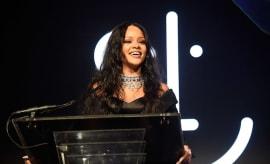 Rihanna at the Third Annual Diamond Ball