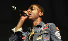 Young Dolph performing.