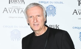 James Cameron attends the opening night of Cirque du Soleil's 'Toruk The First Flight'