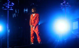 J. Cole performs at 2017 Made In America
