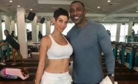 Shannon Sharpe and Nicole Murphy.