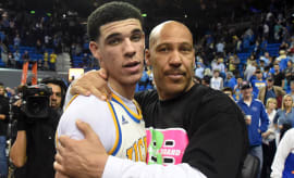LaVar Ball and Lonzo Ball