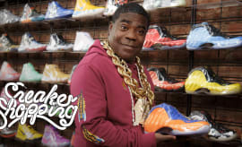 99e9dad4b07c98 Tracy Morgan Goes Sneaker Shopping With Complex